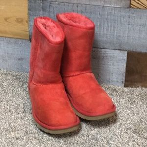 Red UGG Classic Boots